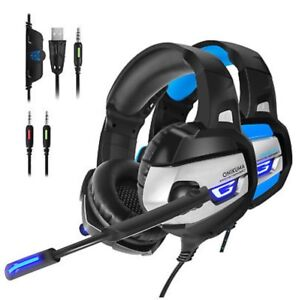 K5 Gaming Headset with Mic Stereo USB LED Headphones PS4 XBOX One PC Hallam Casey Area Preview