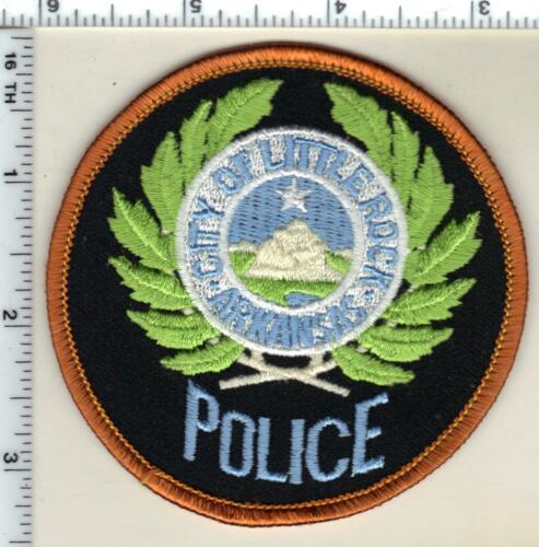 Little Rock Police (Arkansas) Shoulder Patch - Uniform TakeOff from the 1980