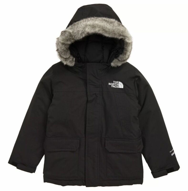 The North Face Toddler McMurdo Waterproof Hooded Down Parka Jacket Black Size 6T