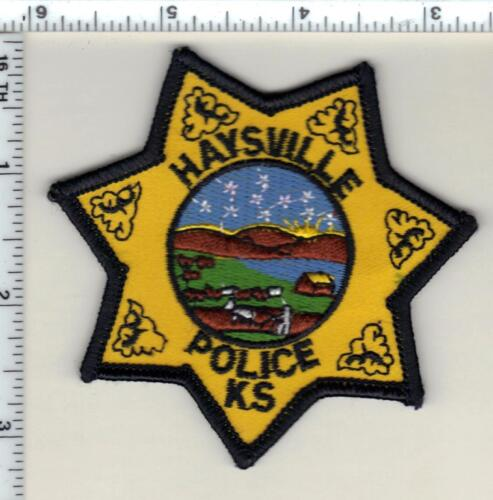Haysville Police (Kansas) Shirt/Jacket Patch - new from 1997