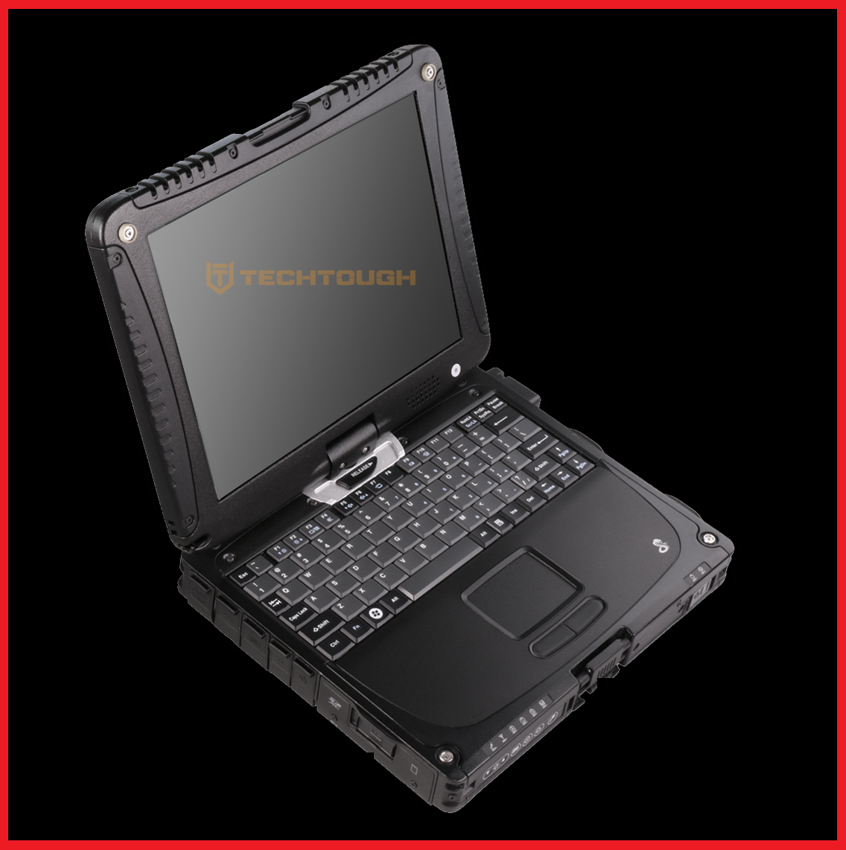 BLACK Panasonic Toughbook CF-19 • i5 • 1000GB HD • GPS • DVD-RW • Windows 7 / 10
