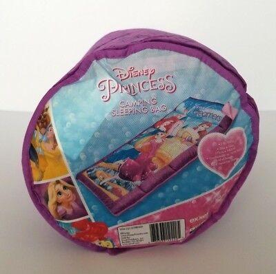 Disney Princess Sleeping Bag Zip Full Length Camping Overnight NEW - Princess Sleeping Bags