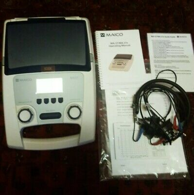 Maico Ma27 Portable Audiometer With Headphones Calibrated 2020