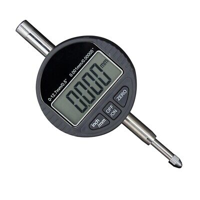 New 0-12.75 0.001mm0.00005 Digital Dial Indicator Testing Gage Usa Sell