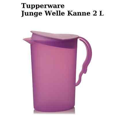 Tupperware _  Kanne Junge Welle 2L FLIEDER - LILA Neu & OVP - Jungen Neue Wellen