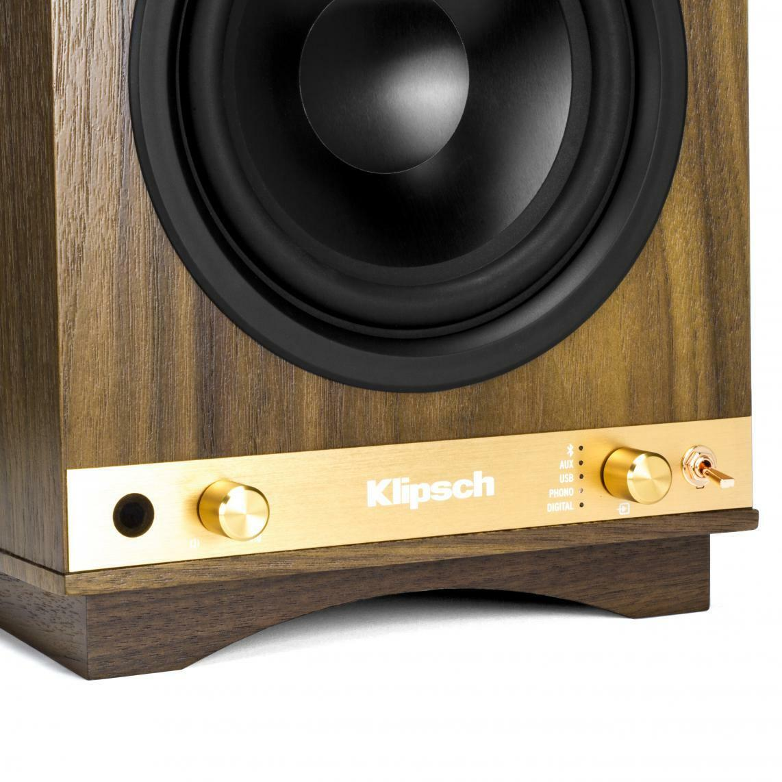 blk speakers rp fitzroy klipsch monitor premier products bookshelf reference vinyl revival