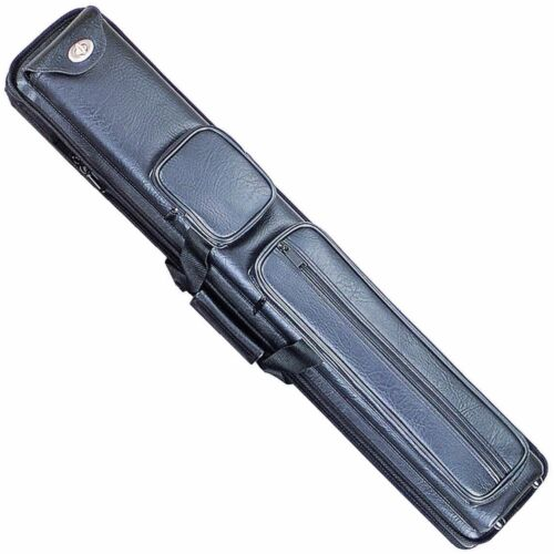 3x5 Black Pool Cue Case w/ Spring Loaded Tubes w/ FREE Shipping