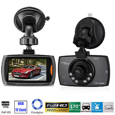 1080P 2 4  Hd Lcd Car Dash Camera Video Dvr Cam Recorder Night Vision