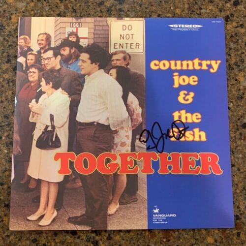 * COUNTRY JOE & THE FISH * signed vinyl album * JOE MCDONALD * TOGETHER * 2