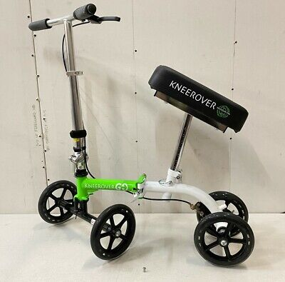 KneeRover GO Knee Scooter Most Compact Portable Knee Walker Crutches Alternative