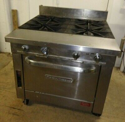 Southbend 36 4 Burner Gas Range W Standard Oven Natural Gas P36d-xx