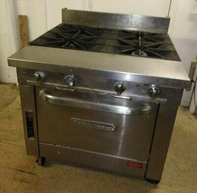 Southbend 36 4 Burner Gas Range W Standard Oven Natural Gas P36d-xx