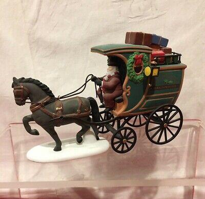 Department Dept 56 Heritage Village The Fezziwig Delivery Wagon #58400 Department 56 Heritage Village