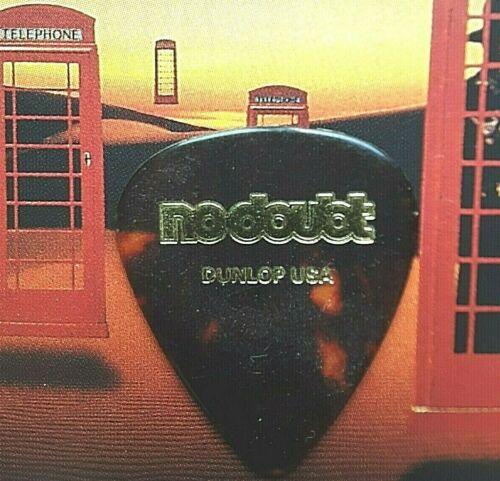 NO DOUBT Tom Dumont 2001 Rock Steady Tour tort guitar pick