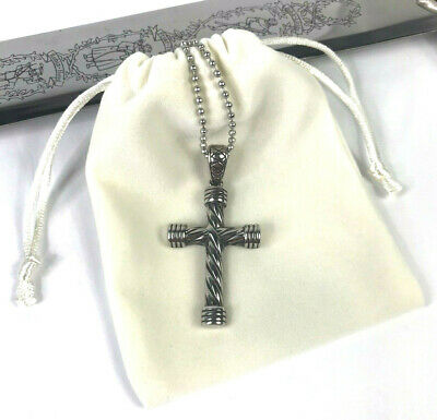 Sword necklace Cristian pendant Catholic necklace Cross pendant Religious jewelry Cross Necklace big cross men/'s jewelry