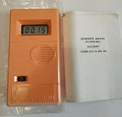 Vintage Ussr Dosimeter Raton Radiometer Geiger Counter Chernobyl Radiation 1