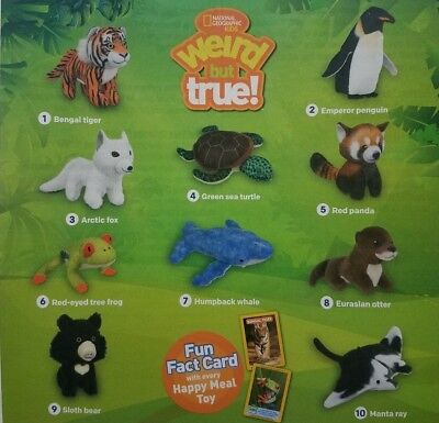 2018 McDONALD'S NATIONAL GEOGRAPHIC - PICK YOUR TOY - FREE SHIPPING