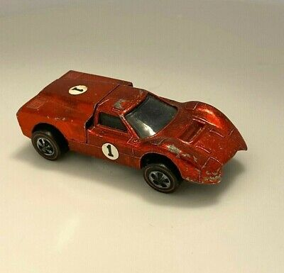 Hot Wheels Redline Ford J Car Red Spectraflame  Sweet Sixteen