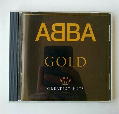 ABBA Gold Greatest Hits CD 1992 Polygram Records Polydor Polar Original Release