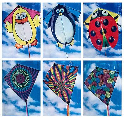 1 x Klassik Kinderdrachen Drache 67 cm Drachen Flugdrachen Einleiner Kite