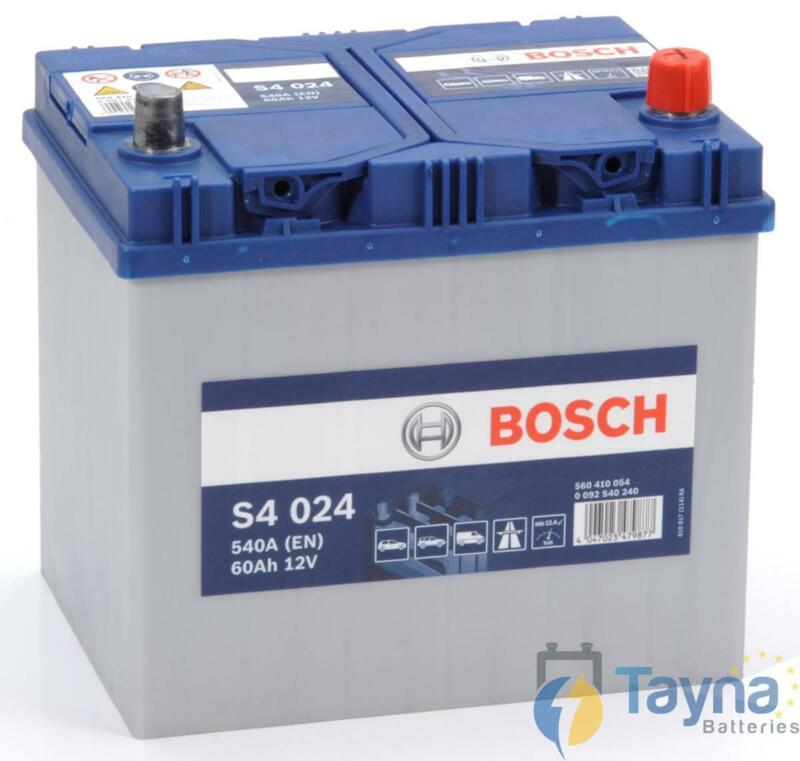 005/005L Bosch Heavy Duty Car Battery S4024 12V 60Ah 4 Yr Wty Next Day Delivery