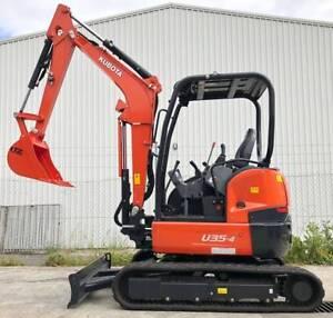Kubota U35-4 Excavator Kewdale Belmont Area Preview
