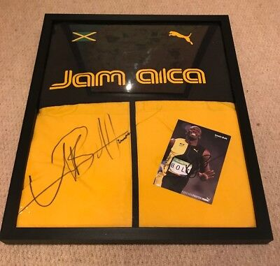 Suit Bolt Jamaica M Track Puma Signed Jacket Usain nkw08OXP