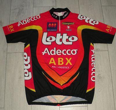 "Lotto Adecco ""XL"" Nalini Cycling Shirt Trikot Jersey"