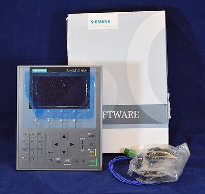 Mint Siemens 6av2124-1dc01-0ax0 6av21241dc010ax0 Simatic Hmi Ktp400 Comfort Op