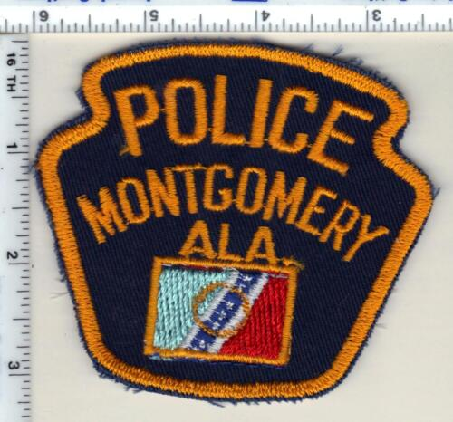 Montgomery Police (Alabama) Shoulder Patch - New from 1985