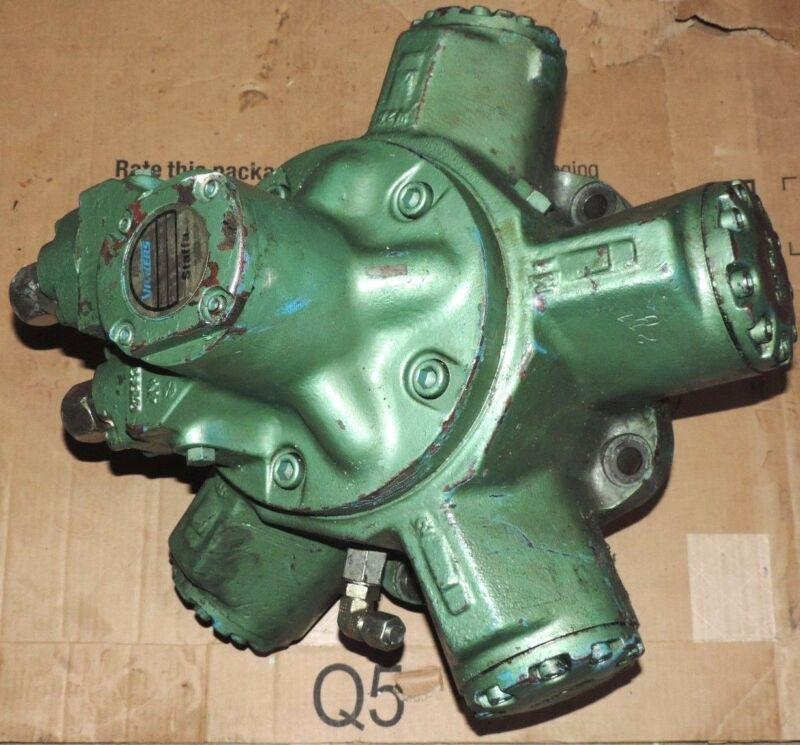 Vickers Staffa Hm/b100s/f/13 Radial Piston Hydraulic Motor Hmb Ser. Fixed Disp.