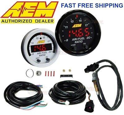 GENUINE AEM X-Series Wideband Air Fuel Ratio Sensor Controller Gauge 30-0300