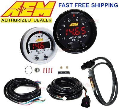 NEW AEM X-Series Wideband UEGO AFR Sensor Controller Gauge # 30-0300 LSU 4.9