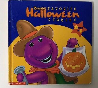 Barney: Barney's Favorite Halloween Stories by Mark S. Bernthal and Inc. - Halloween Preschool Stories