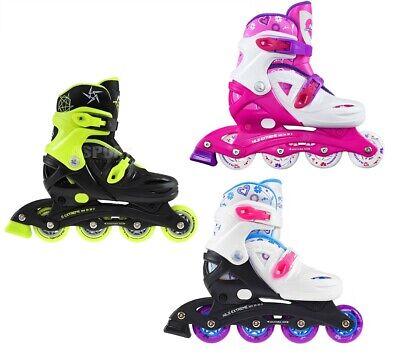 Kinder Inlineskates Inliner Rollschuhe Skates VERSTELLBAR NJ/NA032 Nils