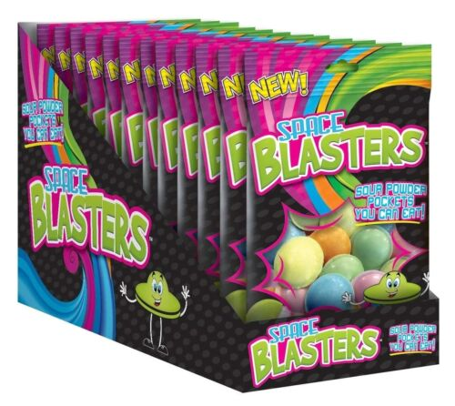 Space Blasters Candy - 12 Ct Display