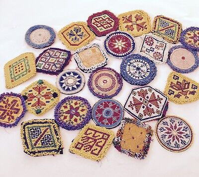 Medie Kuchi Afgano Tribale Abito Di Perline Medaglione 50 All'ingrosso