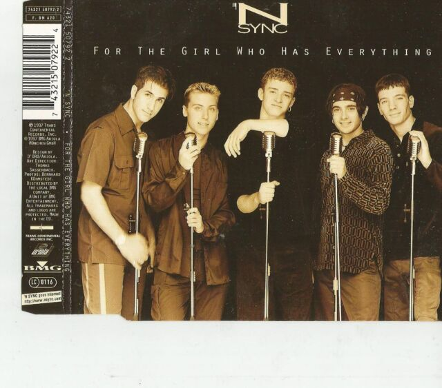 For the Girl Who Has Everythin von 'N Sync / CD / #884