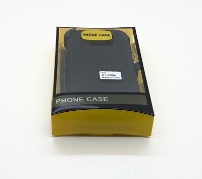 FOR Black Samsung Galaxy S7 Edge Case w/ Screen & Clip fits Otterbox