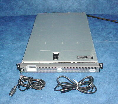 Dell Poweredge 1950 Quad-Core Intel 5000X Chipset 1U Rack Height Server w/Key (Intel 5000 Chip Set)