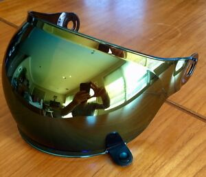 Bell Bullitt bubble visor, blue chrome Preston Darebin Area Preview