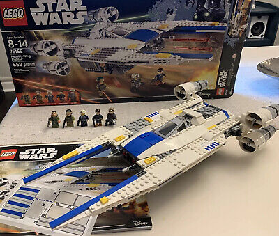 LEGO Star Wars 75155 Rebel U-Wing Fighter Used 100% Complete & Clean