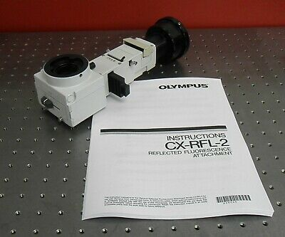 Olympus Cx-rfl-2 Reflected Fluorescence Adapter For Cx31 Cx41 Microscopes