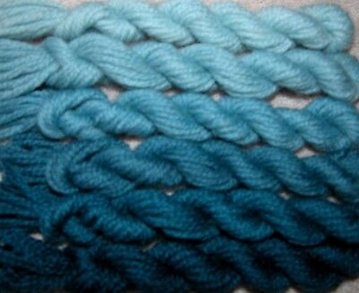 New Paternayan Wool 3Ply Persian Needlepoint Crewel Yarn Assortment 510 Old Blue