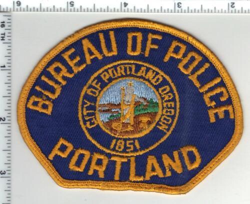 Bureau of Police Portland (Oregon) 1st Issue Shoulder Patch