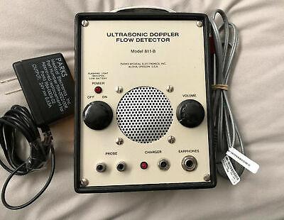 Parks Medical Electronics Ultrasonic Doppler Flow Detector Model 811-b