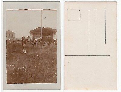 Makedonija,Prokuplje im 1.Weltkrieg Soldat Füsilier Reg.122,Germany RPPC 1916