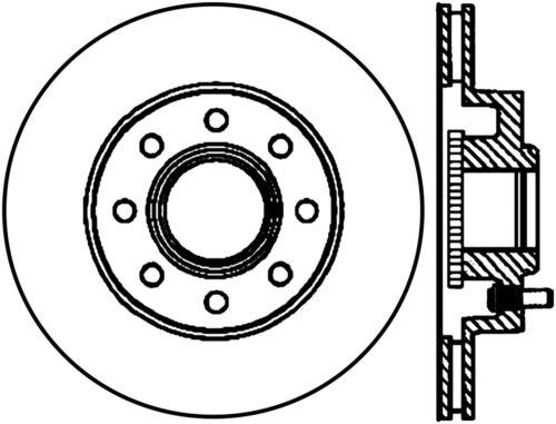 Disc Brake Rotor fits 2005-2007 Ford F-250 Super Duty,F