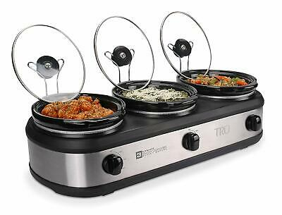 Buffet Server Set (TRU Triple Slow Cooker Buffet Server Set (Assorted)