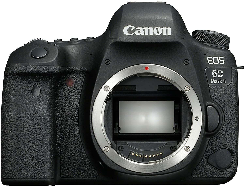 CANON EOS 6D Mark II Body Spiegelreflexkamera Full HD Touchscreen Display WLAN